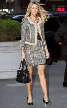 f8559ce6e347 Classic Suit - Ivanka Trump wearing Ivanka Trump - Ten Best Dressed —  Without Borders Fashion