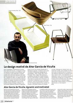 El magazine Intramuros de París , entrevista a Aitor G. de Vicuña.