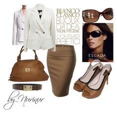 """""""ESCADA"""" by nurinur ❤ liked on Polyvore featuring ESCADA and J.TOMSON"""