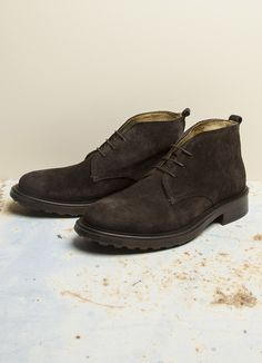 Chukkas a pair of these.