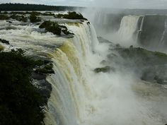 Iguacu Falls Brazil. I can't believe I get to go there!!