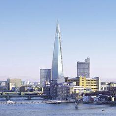 El Shard, el edificio más alto de la Unión Europea. Londres.