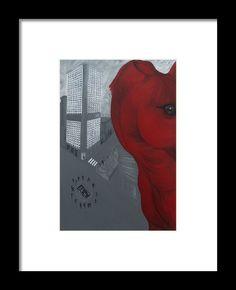 Horse City Framed Print By Thelli  Helenia Tedesco