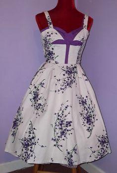 Vintage 1950's Horrockses Dress