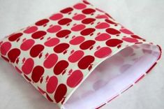 Tutorial: lunch sacks and reusable sandwich bags