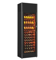 Back to ShowCave Series ShowCave 9090V Wine Cabinet Summary Ideal For Shelving Technical Details Brochures Dimensions: W692 x D499 x H2190mm Capacity: 90 bottles Temperature: Single / Cellaring Amplitude Settings: 6 – 18 degrees C Door: Glass (framed) Colour/s: Black Flush Fitting: Able to build into cabinetry. See instructions. Price:... View Page »