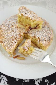 Italian pine nut almond tart. Pretty good!