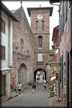 Saint Jean Pied de Port- 1a etapa - Igreja (frente)
