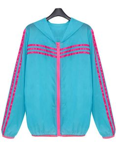 Zanzea® Color-block Hooded Trench Coat