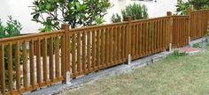 Risultati immagini per recinzioni in legno da giardino