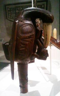 Haida bird rattle at the Metropolitan Museum of Art