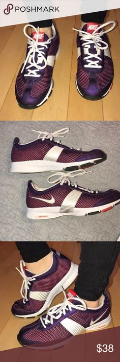 Purple NIKE ZOOM 95. Running Shoes FAST Train Mint NIKE  9.5 ZOOM MID FOOT RUNNING SHOES Condition: While Gently worn in MINT,CLEAN,AWESOME SEE PHOTOS CONDITION!!!! Nike Shoes Sneakers