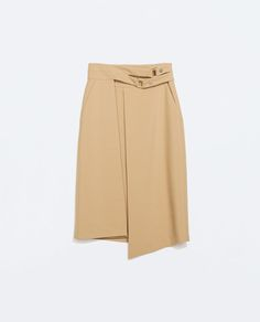 DOUBLE BUCKLE SKIRT from Zara