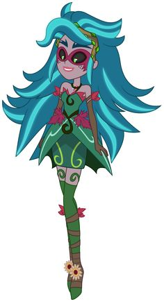 [Vector] Gloriosa Daisy as Gaia Everfree by DashieMLPFiM on DeviantArt