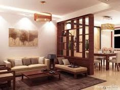 Elegant Partition Livingroom Ideas 23
