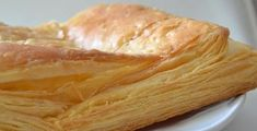 The easy puff pastry, Mrs. Types Of Cakes, Finger Foods, Snack Recipes, Savoury Recipes, Cabbage, Chips, Diet, Vegetables, Cooking