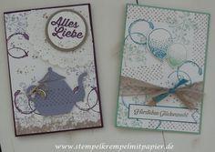 Stempelkrempel mit Papier : Endlos viele Möglichketien mit:Timeless Textures, Partyballons und den Sale-a-Bration Gratis-Sets