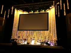 churchstagedesigns.com, Shimmery Christmas, Lake Hills Church, http://www.churchstagedesignideas.com/shimmery-christmas/