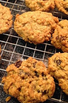 """Beth's Spicy Oatmeal Raisin Cookies   """"Wow, look no further for THE BEST oatmeal raisin cookie recipe. I've tried 3 from this website and this one is the best- by a landslide."""" #cookies #cookierecipes #bakingrecipes #dessertrecipes #cookieideas"""
