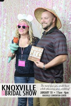Knoxville's most-requested bridal show is coming your way! Join us for an amazing #weddingplanning experience. ♡♡♡