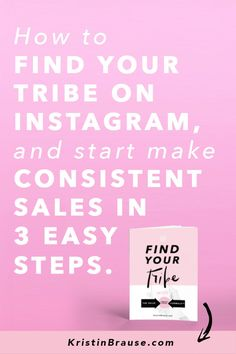 "Are you struggling to find your tribe on Instagram? And do you feel a teeny-tiny bit jealous of those 10k+ accounts that make it look so easy, and get you wondering ""What are they doing that I'm not?"" I'll tell you what they are doing differently: they have found the right audience for their brand. They have figured out exactly WHO THEIR brand is serving, HOW, WHAT and WHY. How to grow their following and followers. Follow my Instagram tips and learn how to use Instagram"