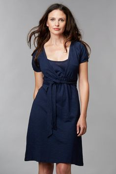 156453940eead4 Charlotte Maternity   Breastfeeding Dress - Midnight