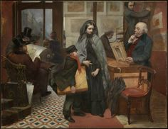 """""""Nameless and Friendless"""" by Emily Mary Osborn (1857)"""