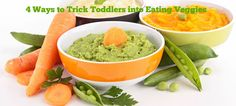 Hint Mama contributor Laura Grice of Mamahacks shares four ways she hides veggies in her son's food.