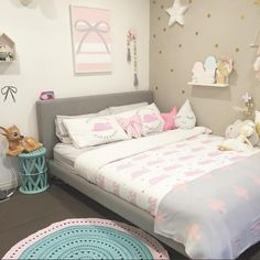 Habitación niña colores pastel original y moderna - Minimoi (@mandymk79)