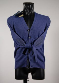 Cashmere-blend cardigan vintage ocean star treatment with patches