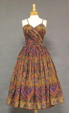 Emma Domb 1950s Sun Dress