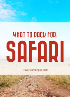 Packing for an adventurous trip to Africa can be quite the challenge. Find out what to pack for safari - these are ten things you absolutely need!