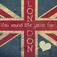 When I'm bored I dream of London