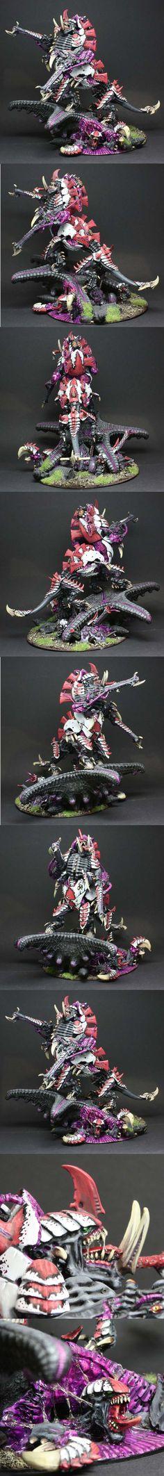 Tyranid Barbed Herodule Bio-Titan
