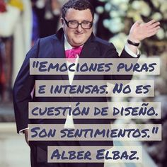 La #moda definida por #alberelbaz: sentimientos y no sólo diseño . #diseño #design #fashion #frases #frasedeldía #quotes #citas Fashion Words, Me Quotes, Company Logo, Logos, Instagram Posts, How To Make, Quote Of The Day, Inspirational Quotes, Feelings