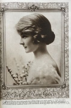 """Publicity photo of Arline Chase from Cosmo March 1918. She was a dancer that popularized the """"Shimmy"""" during WWI. She starred in Broadway hits such as """"Very Good Eddie"""" (1915), """"Leave It to Jane"""" (1917), and """"The Night Boat"""" (1920). Her career was cut short by tuberculosis, the cause of her death at 25 in 1926."""