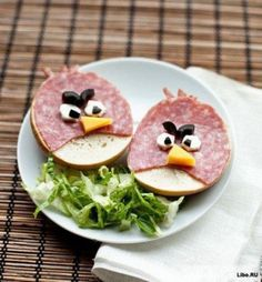 DIY Angry Bird kids breakfast ideas, 2013 healthy breakfast for kids # ...