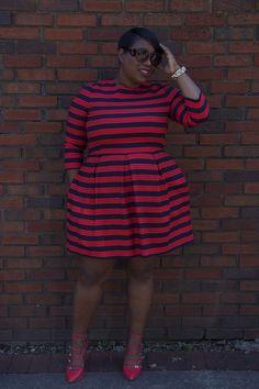 So cute!  Plus Size Fashion for Women - Plus Size Dress