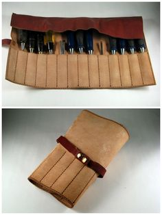 Laser Cut Leather Tool Roll: First to make the leather toll roll I designed a scale design of it on graph paper. Laser Cut Leather, Leather Roll, Leather Pouch, Leather Tooling, Sewing Leather, Leather Craft, Leather Working Patterns, Tool Roll, Leather Workshop