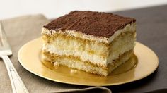 Tiramisu is an Italian dessert rich in history and taste! With a pudding-like filling of mascarpone (a rich cream cheese that originated in the Lombardy region of Italy), the addition of rum and a dusting of cocoa, tiramisu is truly decadent and often found at Italian restaurants for dessert. Perfect your own tiramisu with this recipe.