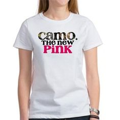 Camo. The New Pink!