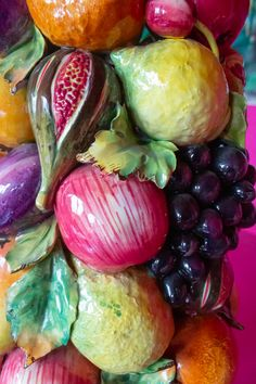 Ceramic Fruit - buy a fabulous topiary at the INTERIORATOR BOUTIQUE