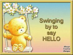146 Best ꧁Hi, Hello꧁ images | Good morning, Buen dia, Friends
