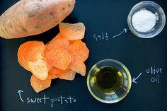 Baked Sweet Potato Chips