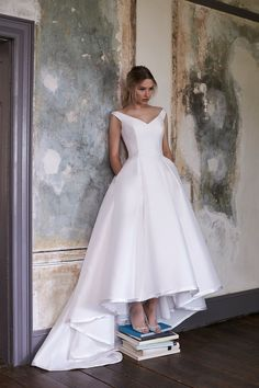 Miss Bush luxury bridal boutique; dressing brides since Wedding dresses, separates and trousers - in Ripley, Surrey, just outside of London. Luxury Wedding Dress, Wedding Dress Shopping, Elegant Wedding Dress, Perfect Wedding Dress, Wedding Dresses, Belle Bridal, Wedding Dress With Pockets, Wedding Dress Pictures, Types Of Dresses
