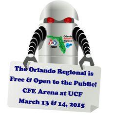 FRC Orlando Regional robotics competition