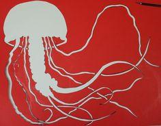 jellyfish stencils | Jellyfish Stencil by ~dharmasimone on deviantART