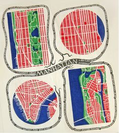 Josef Frank's Manhattan fabric featured at the Maritime Hotel in Chelsea. The Google logo today is almost (but not quite) as distracting as the Pac-Man incident, I can't resisting clicking on the pretty pattern. via zoozoom