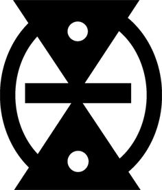 """Mmere dane - """"time changes """"  symbol of change, life's dynamics  Source: Cloth As Metaphor by G.F. Kojo Arthur"""