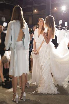 Christian Siriano at New York Fashion Week Spring 2015